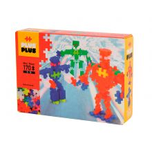 Plus-Plus Neon - Robotti, 170 palaa