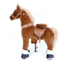 Ratsastettava hevonen, vaaleanruskea, pieni
