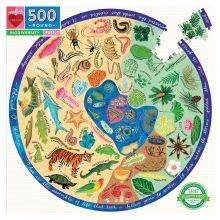 Palapeli 500 palaa - Luonnon monimuotoisuus