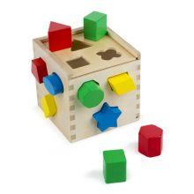 Palikkalaatikko, geometriset palikat