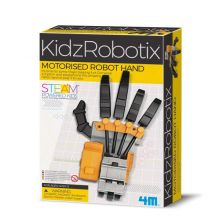 Robottikäsi - rummuttaa sormilla