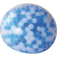 Aistipallo, halkaisija 10 cm - Sinivalkoinen