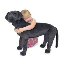 Pehmolelu, plyysistä - Labradorinnoutaja, musta