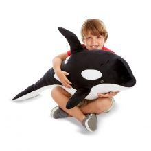 Pehmolelu, plyysistä - Miekkavalas