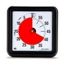 Time Timer suuri (30x30 cm) magneeteilla