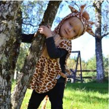Naamiaisasu - Vauvapuku, kirahvi