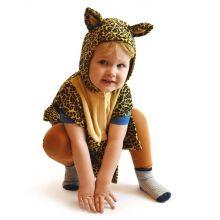 Naamiaisasu - Leopardi potkupuku