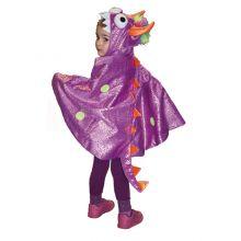 Naamiaisasu - Viitta, violetti lohikäärme