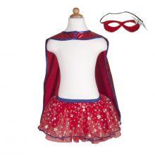 Naamiaisasu - Supersankarettaren mekko ja naamio