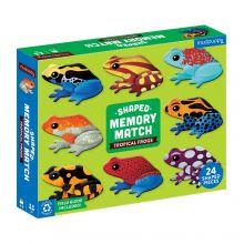Muistipeli - Trooppiset sammakot