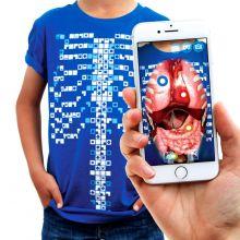 Anatomia t-paita, Interaktiivinen - Aikuiset