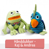 Käsinuket - Kaj & Andrea
