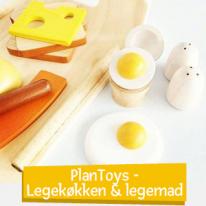 PlanToys - Leikkikeittiö & leikkiruoka